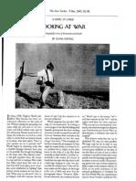 """Looking at War"" by Susan Sontag"