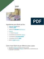 Budin de Pan1