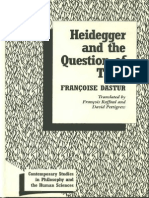 [Francoise Dastur] Heidegger and the Question of Time
