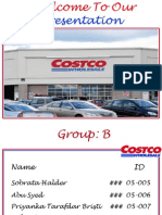 Costco Wholesale's Strategic Management.