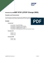 Cfop Samples