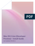 Hackintosh Guide for Lion [Developers]