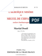 L'HÉROÏQUE MISÈRE de Miguel Cervantes-prisonnier des Barbaresques -1930
