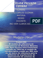 Power Point Modelo Osi