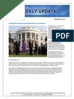 DNC Weekly Update 9-13-13