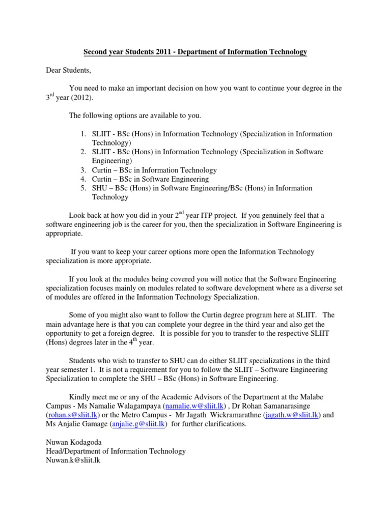 111.pdf | Development | Engineering on bs information technology, master of science in information technology, bachelor's degree information technology,