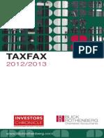 09.b - Tax Allowances - TaxFax_Blick Rothenberg_March2012