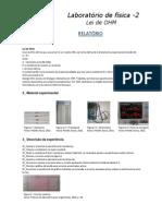 Relatório Física 3 Lab. 1