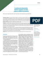 Estructura factorial del cuestionario disejecutivo. Tirapu-Ústarroz