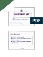 assurance-vie,ucl,2009-2010