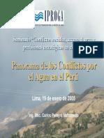 Los Conflictos Agua-CIP Congreso