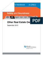 2013 Comptroller's Handbook -OREO- OTHER REAL ESTATE OWNED, SUCH AS FORECLOSED PROPERTY
