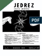 Ajedrez 59-Mar 1959