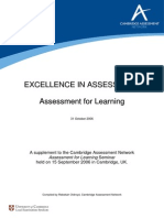 Excellence in Assessment Cambridge