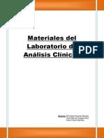 Materiales Del Laboratorio de Analisis Clinicos