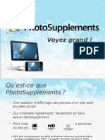 E-commerce et photos plein écran