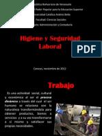 EXPOSICIÓN HIGIENE Y SEGURIDAD LABORAL