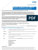 Psm1(New_deg)_0910_v1.3 Nhs Bursary Application Form