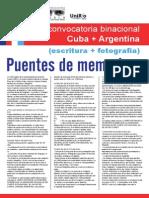 Conv Puentesdememoria