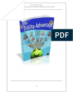 TriVita Advantage Guide- All of your TriVita Home Business Opportunity Questions Answered
