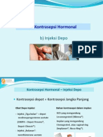 XVI Kontrasepsi Hormonal ( Injeksi, Implant, Patch, Vaginal Ring, AKDR)