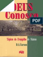 D. a. Carson - Deus Conosco(1)