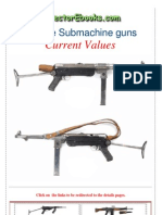 Vintage Sub Machine Guns Current Values