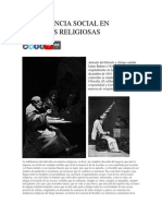 Indiferencia Social en Materias Religiosas