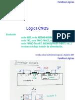 FamiliasLogicas CMOS y ECL 2007