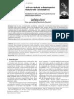 Análise da relação entre estrutura e desempenho