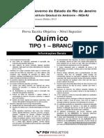 Quimico Tipo 01