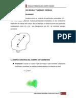 CINÉTICA DEL SÓLIDO RÍGIDO TRABAJO Y ENERGIA (1)