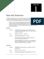 Appx I - Basic SQL