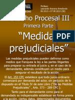 Procesal III - 1 Prejudiciales