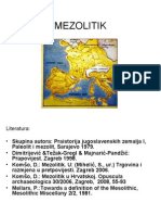 MEZOLITIK - prezentacija