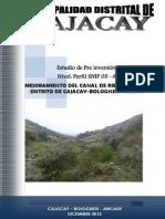 HIDROLOGIA DESCARGAS GENERADAS