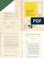 Sociedade e Espaco a Formacao Social Como Teoria e Com Metodo MiltonSantos 1977