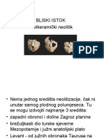 Bliski Istok - pretkeramički neolitik