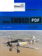 (Warpaint Series No.12) Fairey Swordfish
