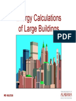 Energy Cal for Large Buildings