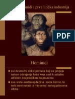 3. Rani Hominidi i Prva Liticka Industrija