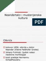 6. Neandertalci i Musterijenska Kultura