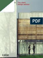 ARQ 2 Building Schools for the Future the Client Design Advisor