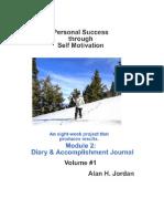 Personal Success Through Self Motivation - Module 2