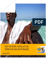 Vsat Network Installation Operation Maintenance