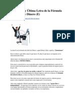 La Novena y Última Letra de la Fórmula del Árbol de Dinero