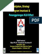 Kebijakan Dan Strategi Program Imunisasi Nasional Dan Penanggulangan Klb Difteri [Compatibility m