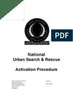 NZ USAR Activiation Guideline