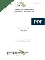 Relatório Fis II 1GQ Exp 2