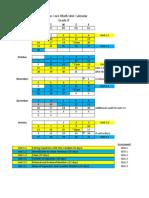grade 8 2013-2014 math calendar